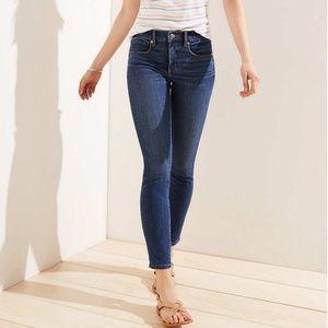 Loft Modern Skinny Petite Jeans
